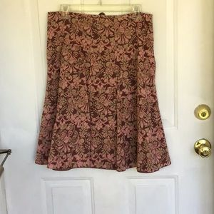 Flared A Line Skirt